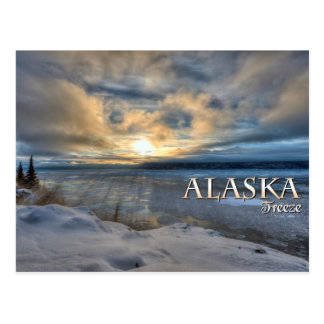 Alaska Freeze Postcard