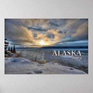 Alaska Freeze Poster