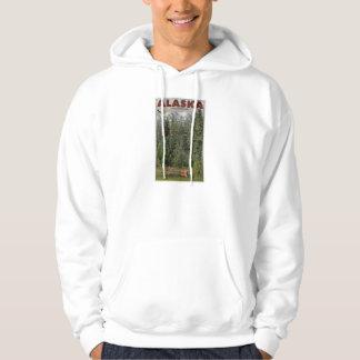 Alaska Frontier Hooded Sweatshirts