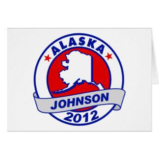 Alaska Gary Johnson Cards