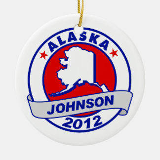 Alaska Gary Johnson Christmas Tree Ornament