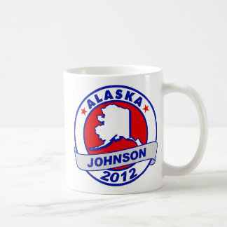Alaska Gary Johnson Coffee Mugs