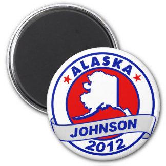 Alaska Gary Johnson Fridge Magnet