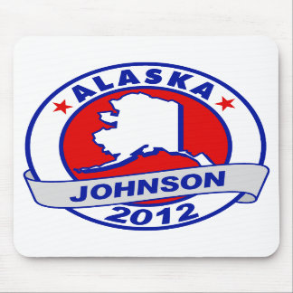 Alaska Gary Johnson Mousepads