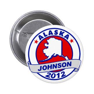 Alaska Gary Johnson Pin