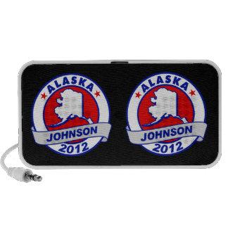 Alaska Gary Johnson Portable Speakers