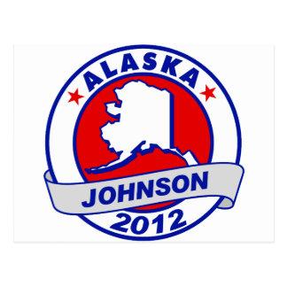 Alaska Gary Johnson Postcards