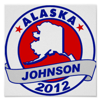 Alaska Gary Johnson Print
