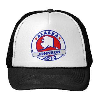 Alaska Gary Johnson Trucker Hats