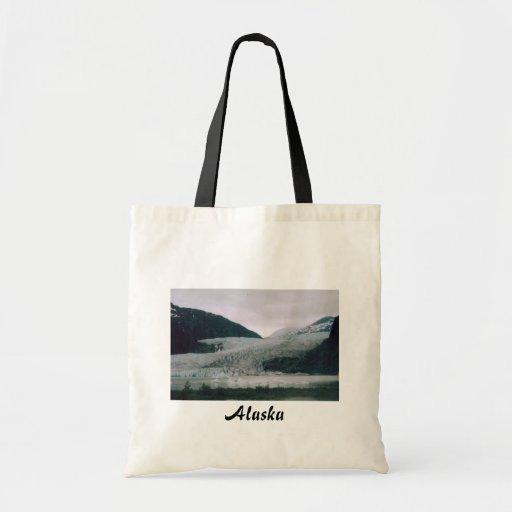 Alaska Glacier Budget Tote Bag