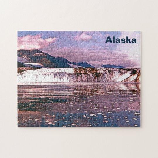 Alaska Glacier Jigsaw Puzzle | Zazzle.com