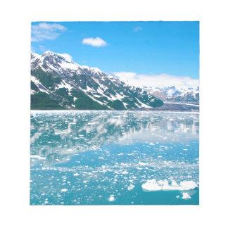 Alaska Glasier Note Pad