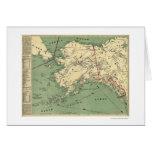Alaska Gold Fields Map 1897 Card