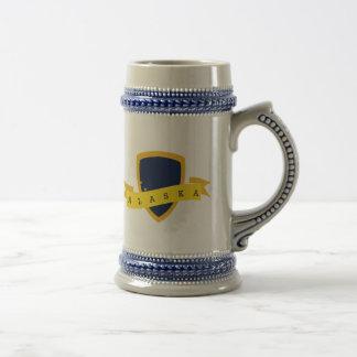 Alaska Golden Shield Beer Stein