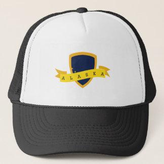 Alaska Golden Shield Trucker Hat