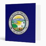 Alaska Great Seal Vinyl Binders