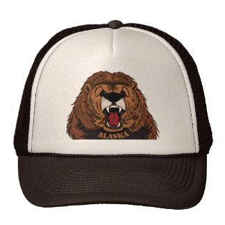 Alaska Grizzly Cap Trucker Hat