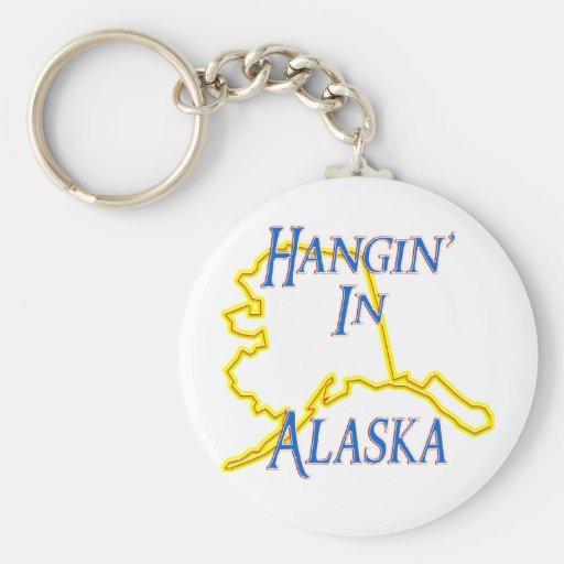 Alaska - Hangin Llavero Redondo Tipo Pin