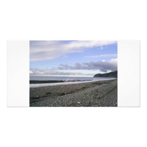 Alaska Heavenly Beaches Photo Card
