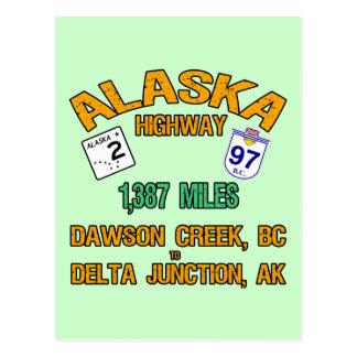 Alaska Highway Postcards