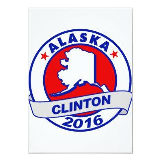 alaska Hillary Clinton 2016.png 5x7 Paper Invitation Card