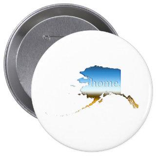 Alaska Home Horizon 4 Inch Round Button