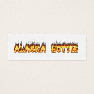 Alaska Hottie Mini Business Card