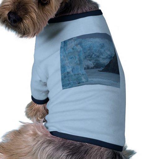 Alaska Hubbard Glacier Dog Tshirt