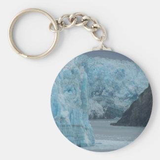 Alaska Hubbard Glacier Keychain