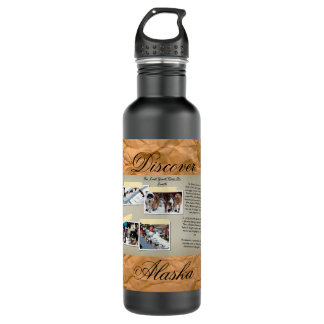 Alaska Iditarod Water Bottle
