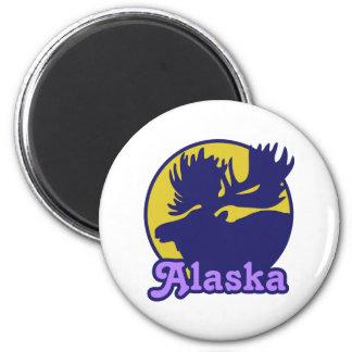 Alaska Imán De Frigorifico