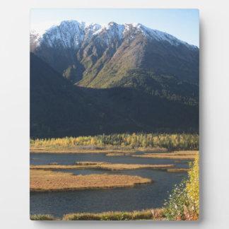 Alaska in Autumn Plaque
