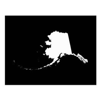 Alaska in White Postcards