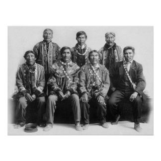 Alaska Indian Chiefs: early 1900s Poster