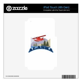 Alaska iPod Touch 4G Decals