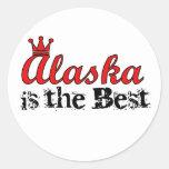 Alaska is the Best Stickers