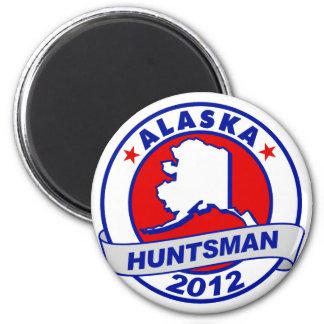 Alaska Jon Huntsman Magnet