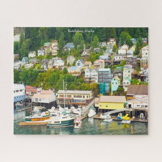 Alaska Ketckican Jigsaw Puzzle | Zazzle.com