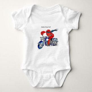 Alaska King Crab on Motorcycle T Shirt