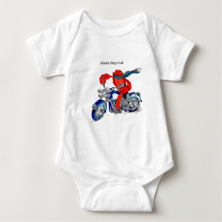 Alaska King Crab on Motorcycle Shirts