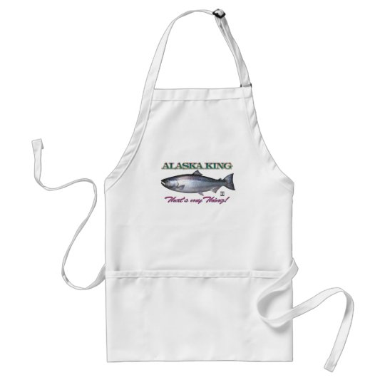 Alaska King, That's my thing!! Adult Apron