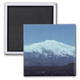 Alaska Kiska Island Volcano Magnet
