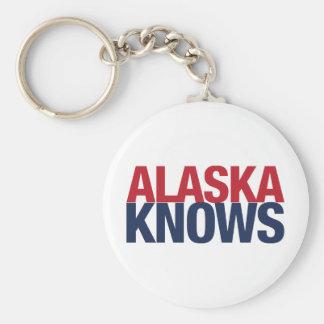 Alaska Knows Keychain