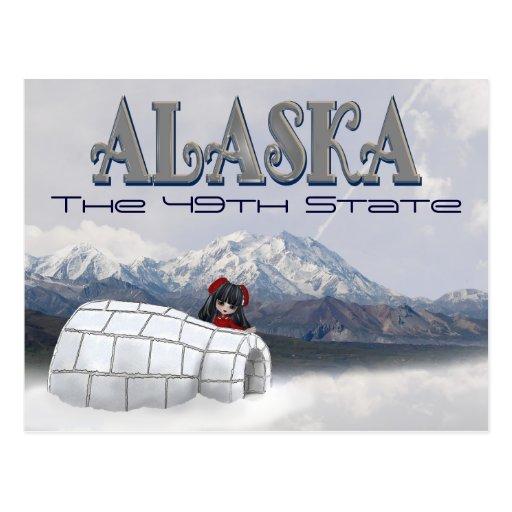 Alaska la 49.a postal del estado