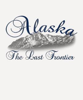 Alaska la camiseta pasada de la frontera
