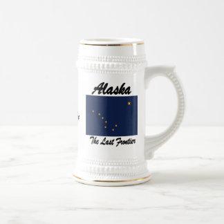 Alaska la cerveza pasada Stein de la frontera Jarra De Cerveza