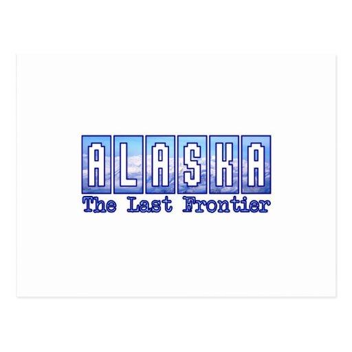 Alaska, la frontera pasada postales