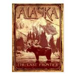 Alaska - la frontera pasada tarjeta postal