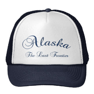 Alaska la gorra de béisbol pasada de la frontera