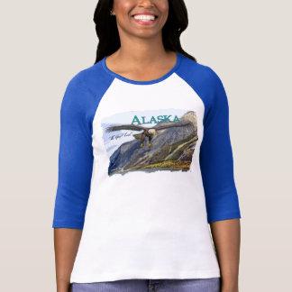 Alaska Ladies 3/4 Sleeve Raglan (Fitted) T-Shirt
